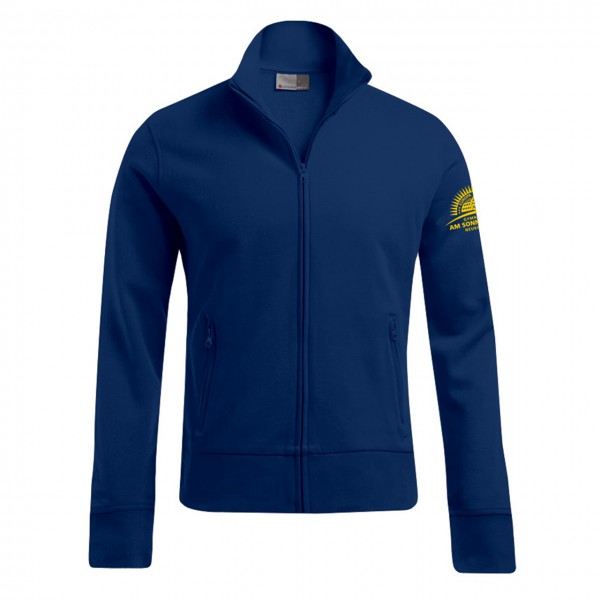 Sweatjacke Herren Ärmel links