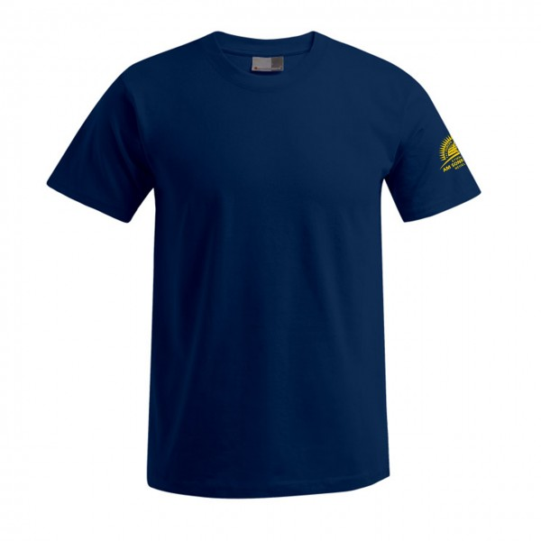 T-Shirt Herren Motiv Ärmel links