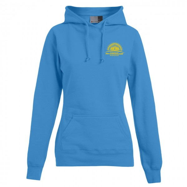 Hoody Damen Brust links