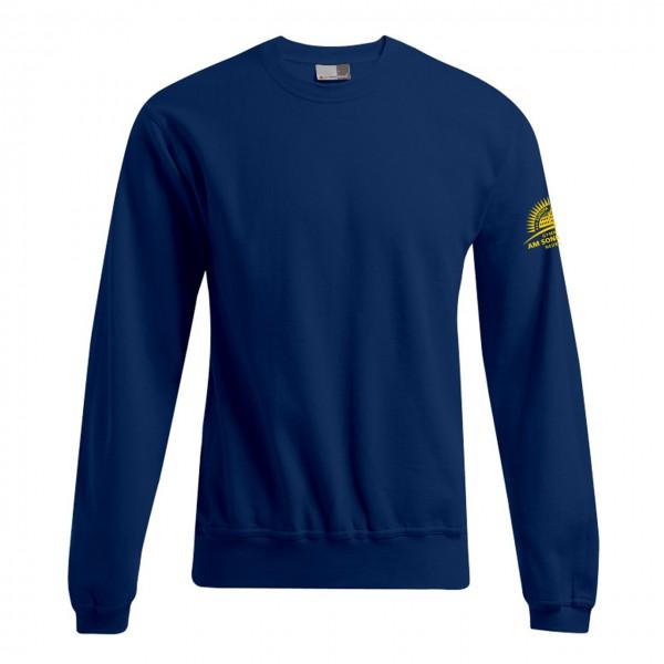 Unisex Sweater Motiv Ärmel links